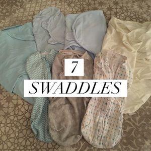 [SwaddleMe] 7 Baby Swaddles